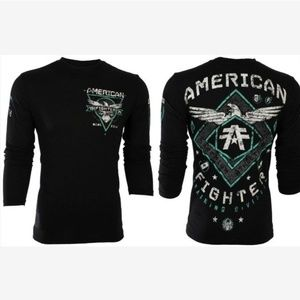 NWT MEN'S AMERICAN FIGHTER SHIRT SIZE S-3XL